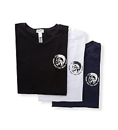 Diesel Randal Cotton Stretch T-Shirts - 3 Pack SJ5LTANL