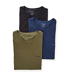 Diesel Essentials Jake Cotton Crew Neck T-Shirt - 3 Pack SPDGAALW
