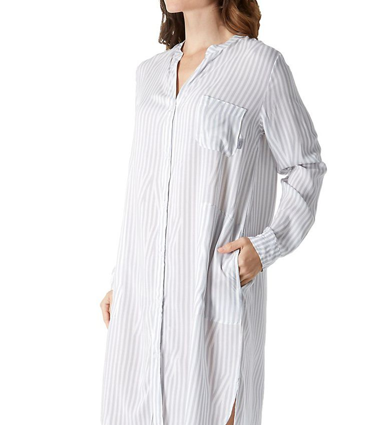 DKNY Clean Slate Long Sleeve Boyfriend Sleepshirt 2319215