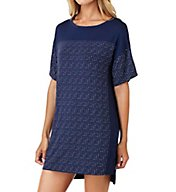 DKNY City Lounge Short Sleeve Sleepshirt 2319233