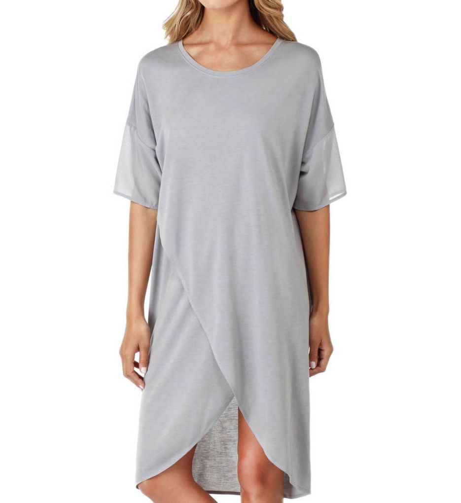 DKNY Long View Short Sleeve Sleepshirt 2319239