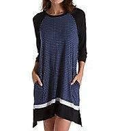 DKNY Downtown Ease 3/4 Sleeve Sleepshirt 2319261