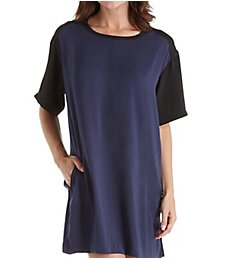 DKNY Geometric Notes 1/2 Sleepshirt 2319262
