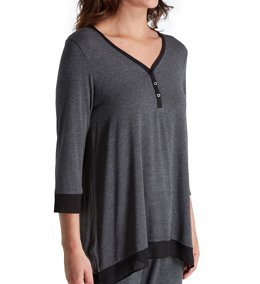 DKNY Season Silhouettes 3/4 Sleeve Top 2419300