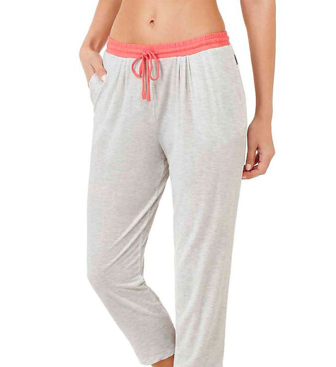 DKNY Color Blocked Cropped Lounge Pant 2713409