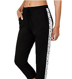 DKNY Lace Effects Crop Pants 2719234