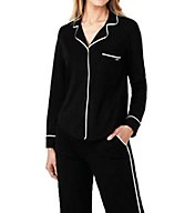 DKNY New Signature Long Sleeve Top and Pant PJ Set 2719259