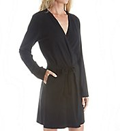 DKNY Soft Jersey Long Sleeve Robe 3713308