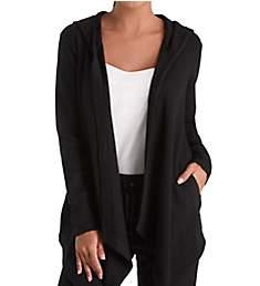 Donna Karan Sleepwear Lounge Hooded Cozy Jacket D206929