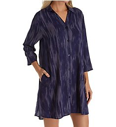 Donna Karan Sleepwear Satin Sleepshirt D236908