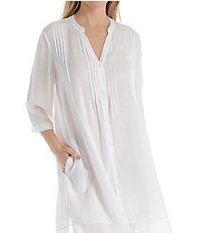 Donna Karan Sleepwear 3/4 Sleeve Woven Sleepshirt D236913