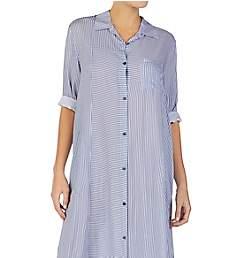 Donna Karan Sleepwear Broken Symmetry Maxi Gown D316947
