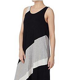 Donna Karan Sleepwear Graphic Long Gown D316959