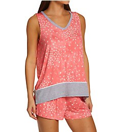 Donna Karan Sleepwear Tank & Boxer Pajama Set D3923334