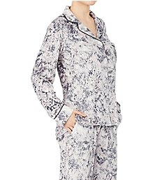 Donna Karan Sleepwear Stretch Velour Signature PJ D396977