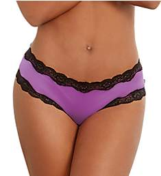 Dreamgirl Cheeky Panty with Criss-Cross Back 1434