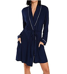 Eberjey Gisele Tuxedo Robe R1018