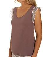 Eberjey Lady Godiva Short Sleeve Tee T1016S