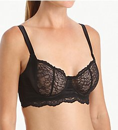 else Lingerie Signature Silk & Lace Underwire Balcony Bra EC-201B