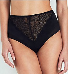 else Lingerie Signature Silk & Lace High Waist Brief Panty EC-201U