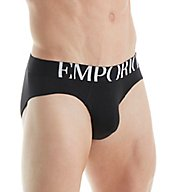 Emporio Armani Essentials Eagle Stretch Cotton Brief 110814Y