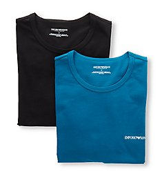 Emporio Armani Core Logoband Crew Neck T-Shirts - 2 Pack 2670P717