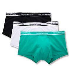 Emporio Armani Core Logoband Trunks - 3 Pack 3570P717