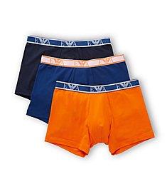 Emporio Armani Monogram Boxer Briefs - 3 Pack 4739P715