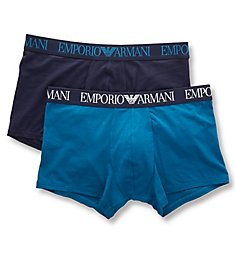 Emporio Armani Endurance Trunks - 2 Pack 7690P720