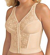 Exquisite Form Front Close Lace Longline Posture Bra 5107565