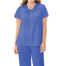 Exquisite Form Coloratura Vintage Short Sleeve Pajama Set 90107