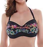 Fantasie Elba Underwire Gathered Bandeau Bikini Swim Top FS6099