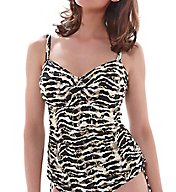 Fantasie Milos Underwire Twist Front Tankini Swim Top FS6137