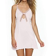 Felina Inviting Micro Modal Chemise with Lace Trim 850038