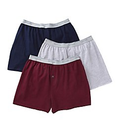 Fruit Of The Loom Mens Core Cotton Assort Knit Boxers- 3 Pack 3P722