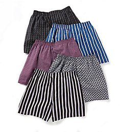 Fruit Of The Loom Core Assorted Woven Boxers - 5 Pack 5P582