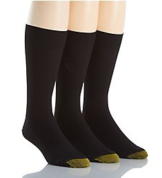 Gold Toe Metropolitan Crew Dress Socks - 3 Pack 101S