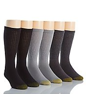 Gold Toe Athletic Crew Socks - 6 Pack 656S