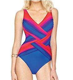 Gottex Radiance Surplice One Piece Swimsuit 18RA158