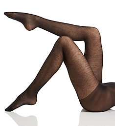 Hue Medallion Sheer Tights with Control Top 18331