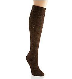 Hue Cuffed Waffle Tweed Knee Sock 18385