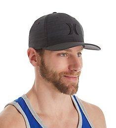 Hurley Black Textures Flexfit Hat 892018