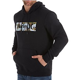 Hurley Surf Check Flamingo Pullover Hoodie AQ2175