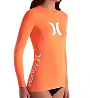 Hurley One & Only Long Sleeve Rash Guard GRG090