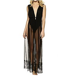 Jezebel Long Mesh Dressing Gown 999723