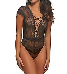Jezebel Gretel Mesh & Lace Up Bodysuit 999778