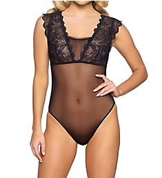 Jezebel Eleanor Lace & Mesh Bodysuit 999809