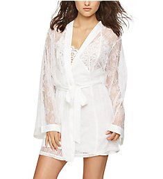 Jezebel Tama Lace Kimono with Satin Trim 999831