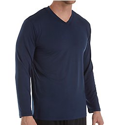 Jockey Moisture Wicking Long Sleeve Sleep Shirt JY6003