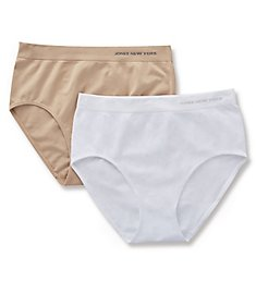 Jones New York Seamless 2 Pack Modern Brief Panty 712317P